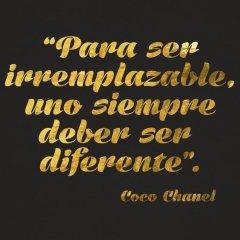 Frases De Coco Chanel Para Ser Irremplazable