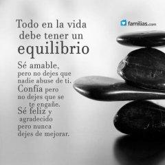 Frases Para Reflexionar Todo Debe Tener Equilibrio