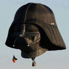 Globo Aerostatico Darth Vader