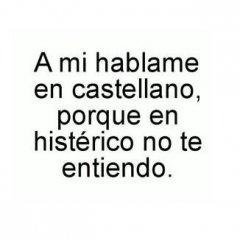 Hablame En Castellano