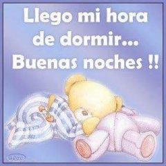 Hora De Dormir Buenas Noches