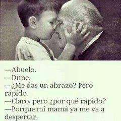 Imagen Abuelo Me Das Un Abrazo