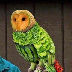 Impresionante Arte Con Comida