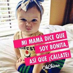 Imagenes Bonitas de Bebes Mi Mama Dice