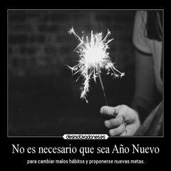 No Es Necesario Que Sea Ano Nuevo