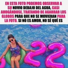 Novio Bajo El Agua Globos 22