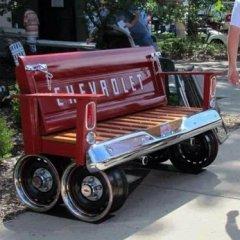 Partes De Una Camioneta Reciclada