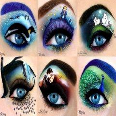 Pintarse Los Ojos Con Diseno