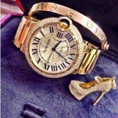 Reloj Cartier Para Dama Foto