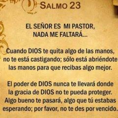 Salmo 23 Cuando Dios