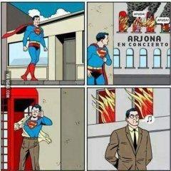 Superman En Concierto De Arjona