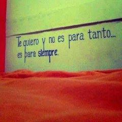 Te Quiero Frase Romantica