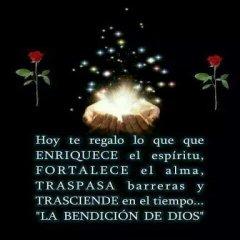 Te Regalo La Bendicion De Dios Frases Cristianas