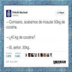 Tuit Gracioso De La Policia Nacional