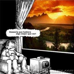 Viendo Television
