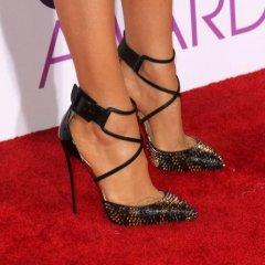 Zapatos De Taco De Moda Bellos